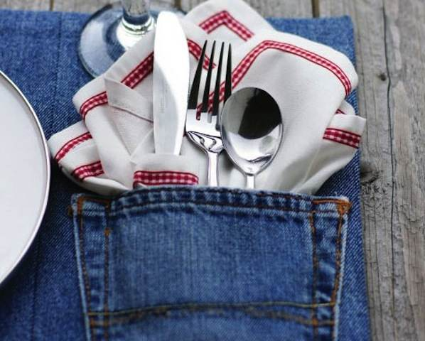 Denim+Pocket+Placemat