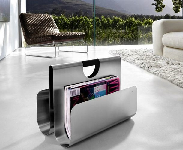Magazine+Rack+By+Blomus