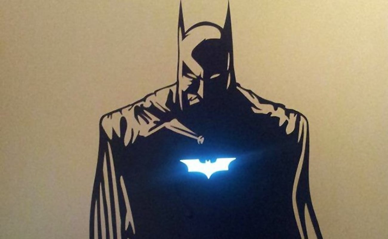 Batman MacBook Sticker Laptop Decal gives your computer superpowers