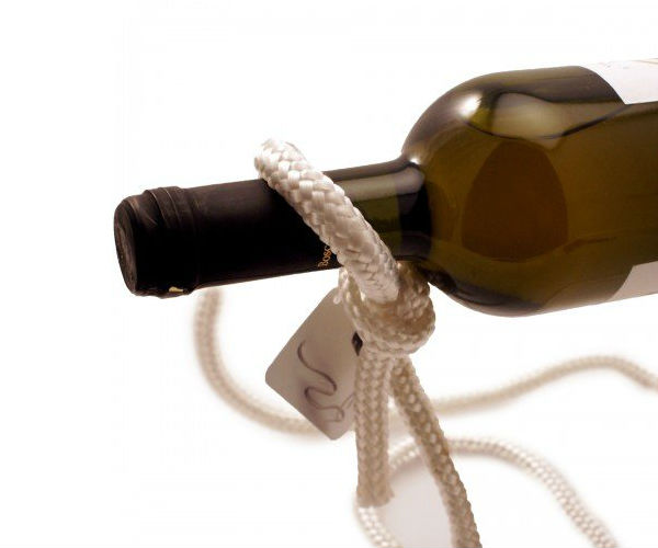 Magic Lasso Rope Wine Bottle Holder