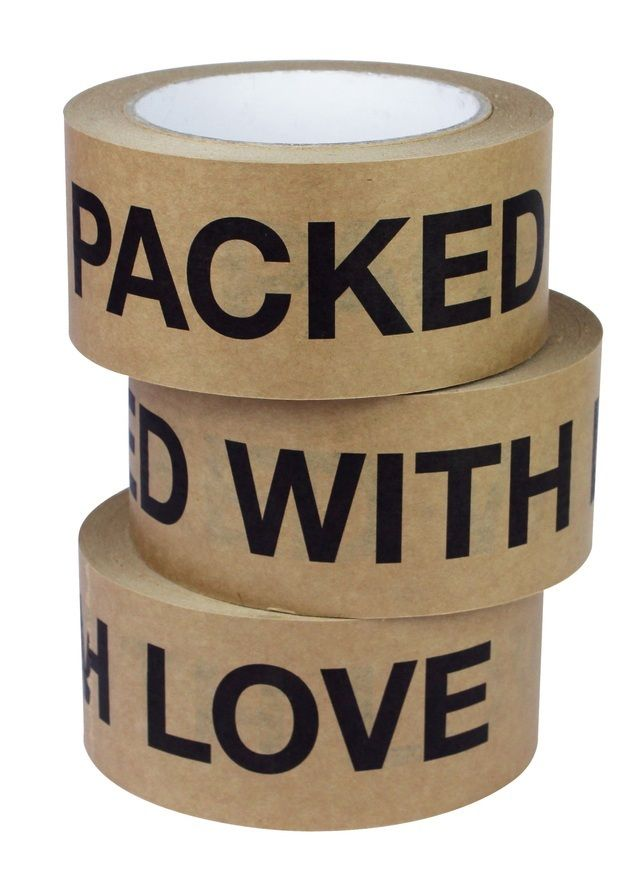 Packed with Love Sticky Paper Tape