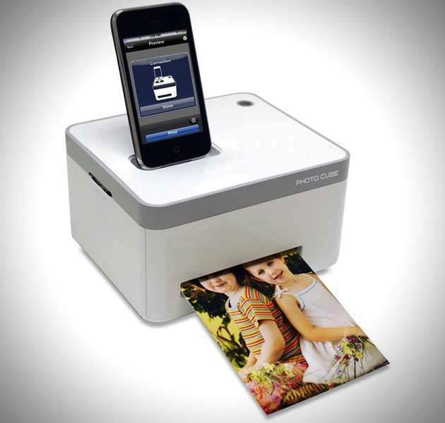 Photo Cube Compact Photo Printer Compact Cube Photo Printer For