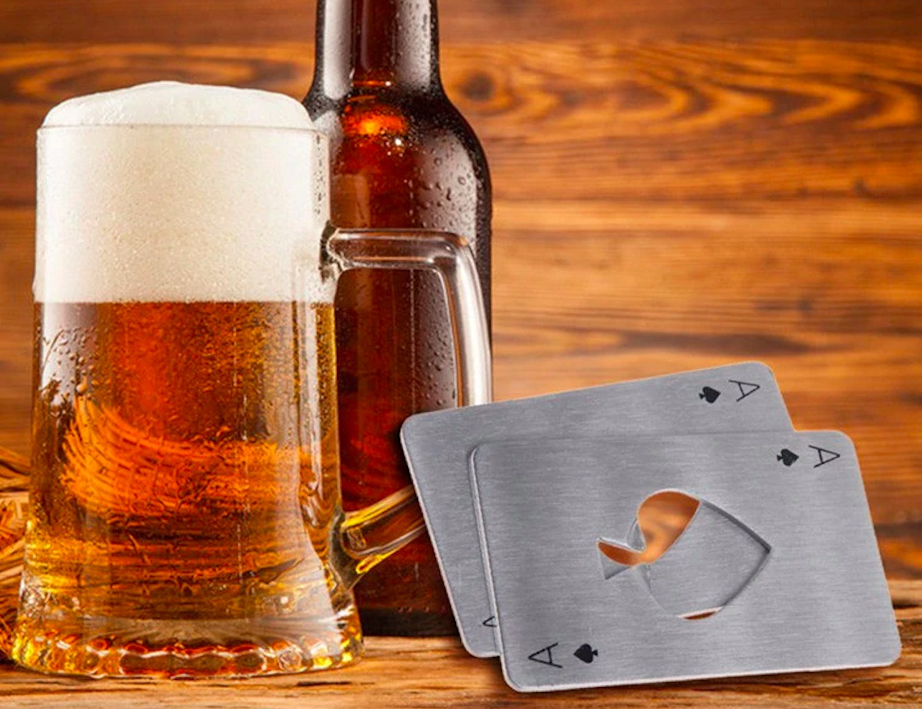 Steel+Playing+Card+Bottle+Opener
