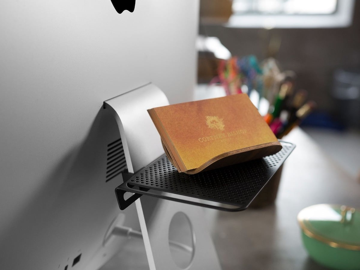 Twelve South BackPack iMac storage shelf keeps your peripherals tidy