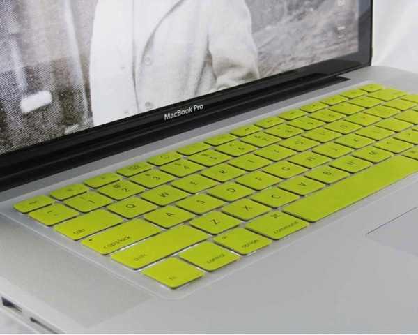 MacBook Keyboard Skin Yellow