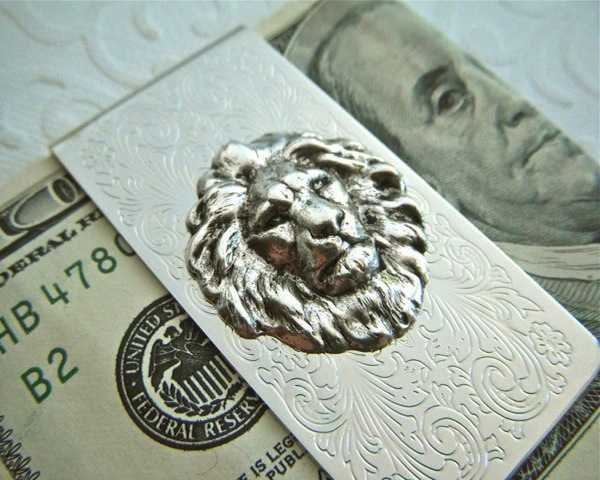 Lion+Money+Clip