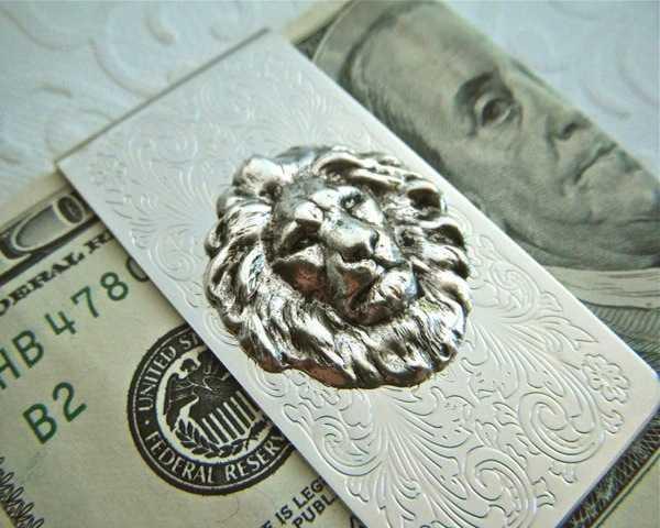 Lion Money Clip