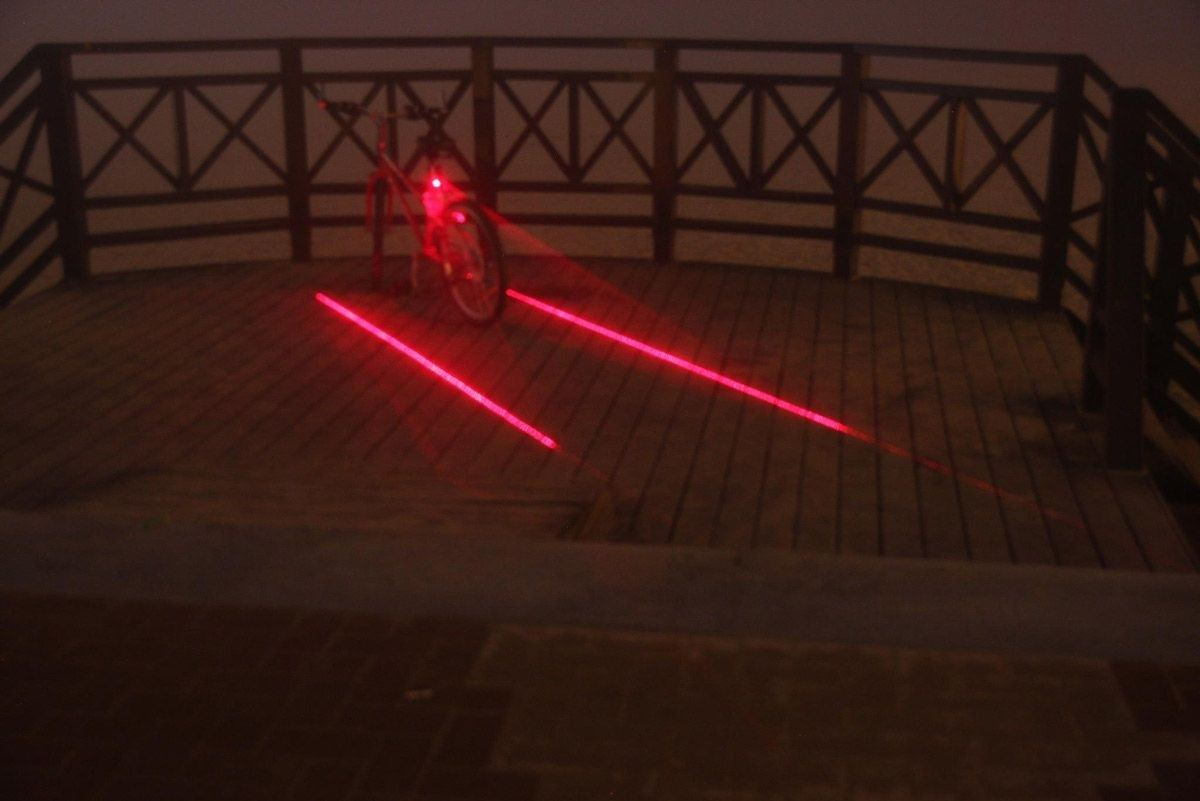 Bike+Lane+Laser+Tail+Light
