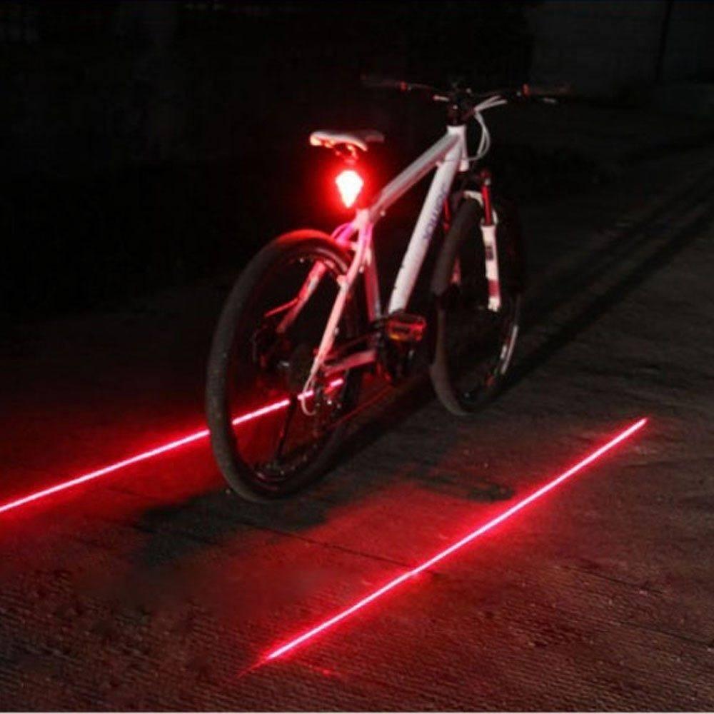 Bike Lane Laser Tail Light