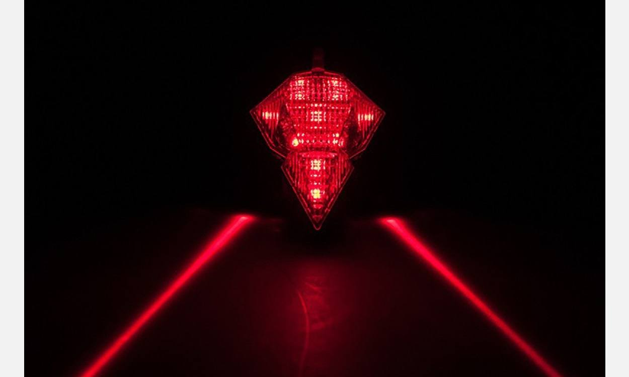 Bike Lane Laser Tail Light