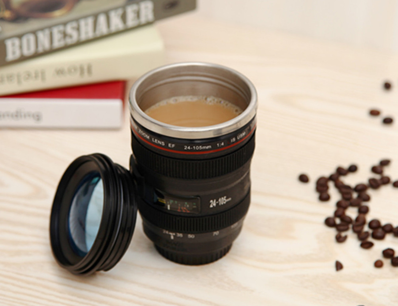 Coffee cup camera lens home design Nikon camera lens coffee mug