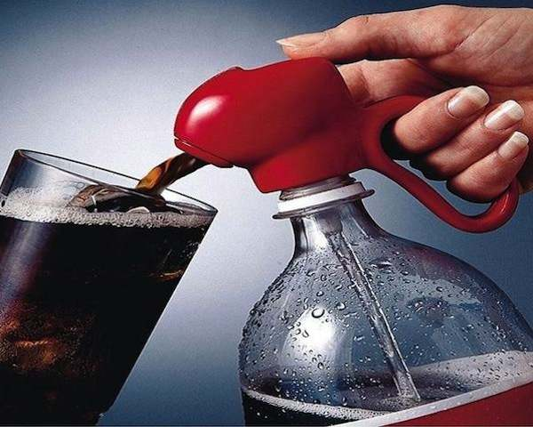 Fizz Keeper Cola Dispenser