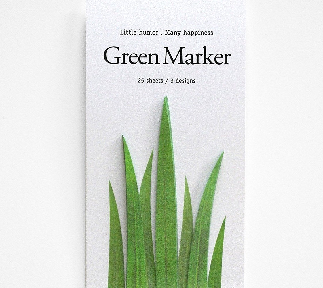 Grassy Page Markers