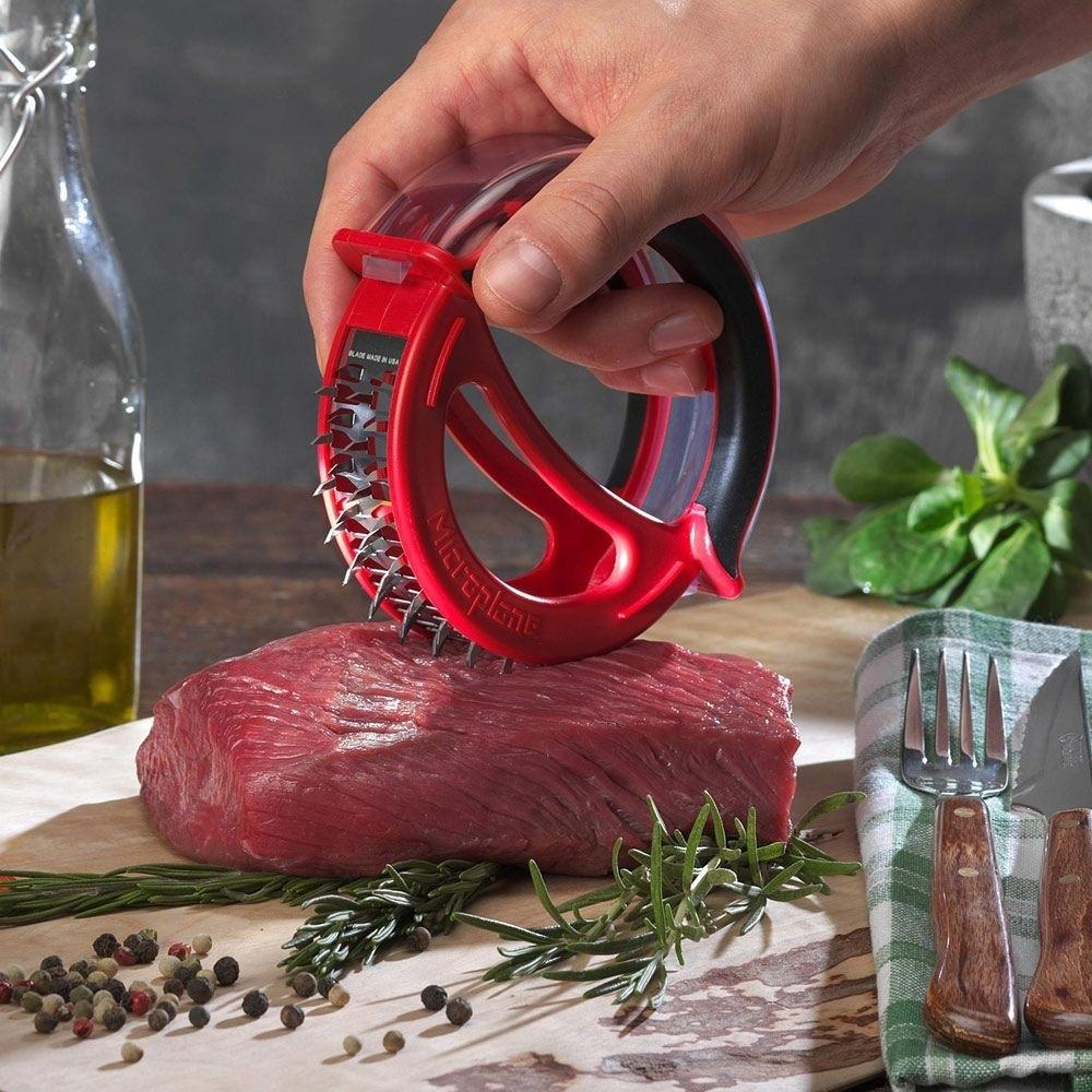 Microplane+Easy+Prep+Meat+Tenderizer