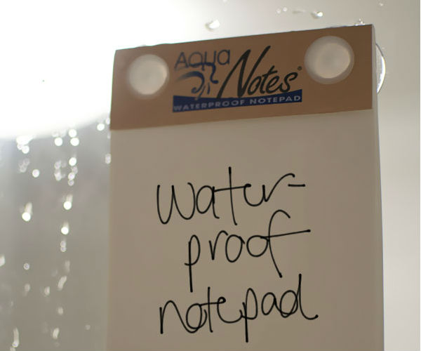 Waterproof Notepad by Aqua Notes