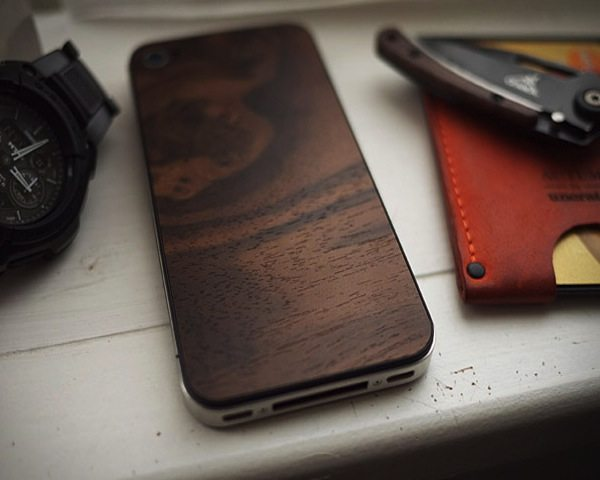 Black Walnut iPhone 4 Case By Material
