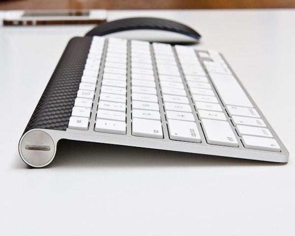 Carbon+Fiber+Apple+Wireless+Keyboard+Skin