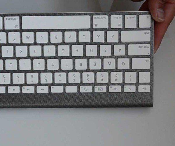 Carbon Fiber Apple Wireless Keyboard Skin