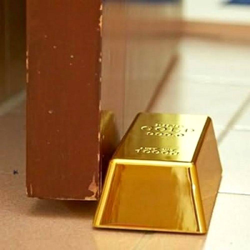 Gold Bullion Doorstop
