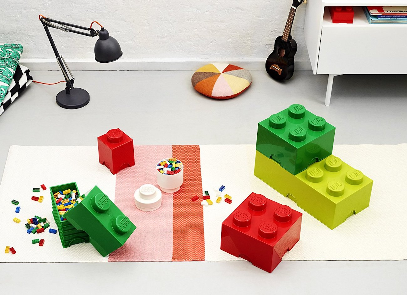 LEGO Stackable Storage Bricks