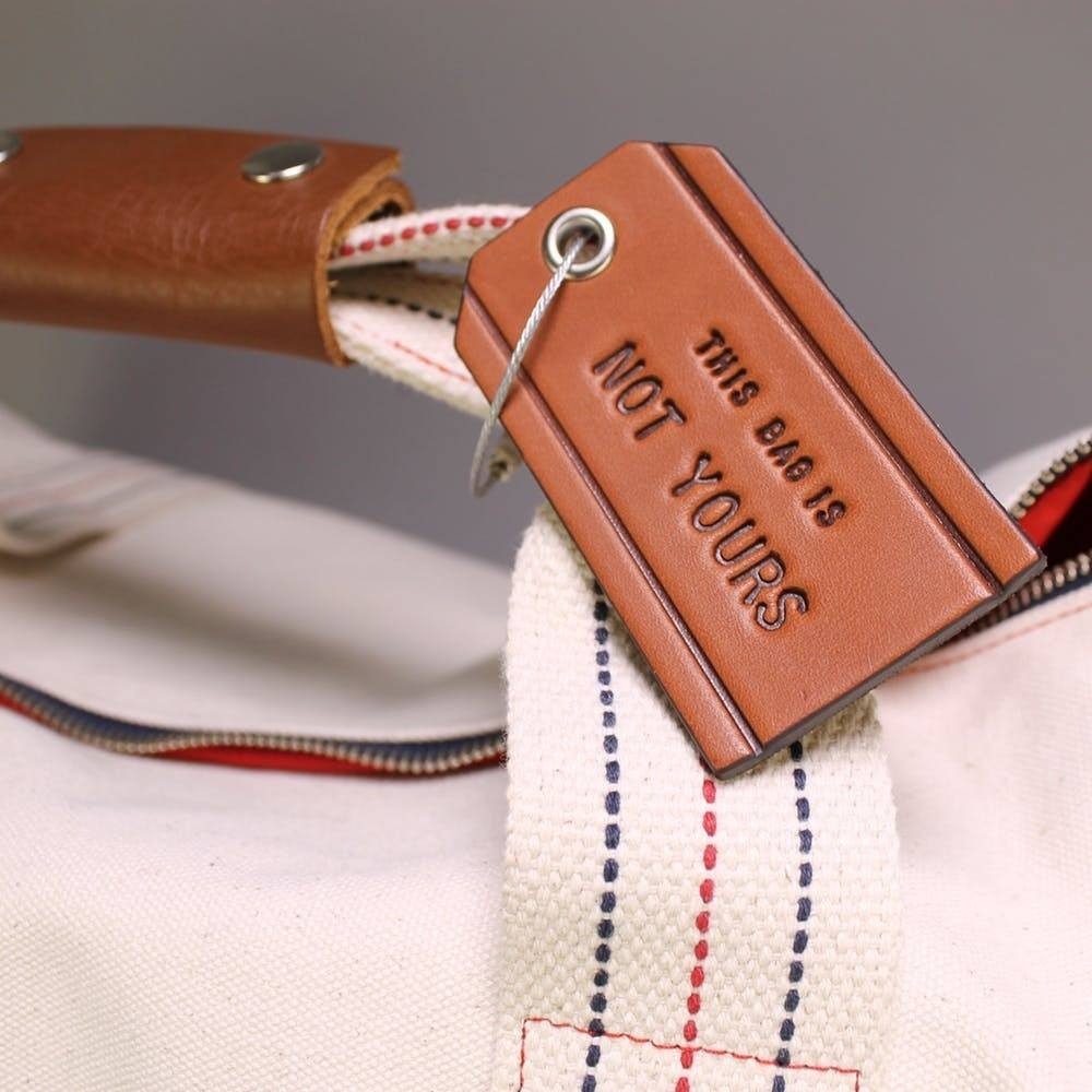 Leather Bag Tag