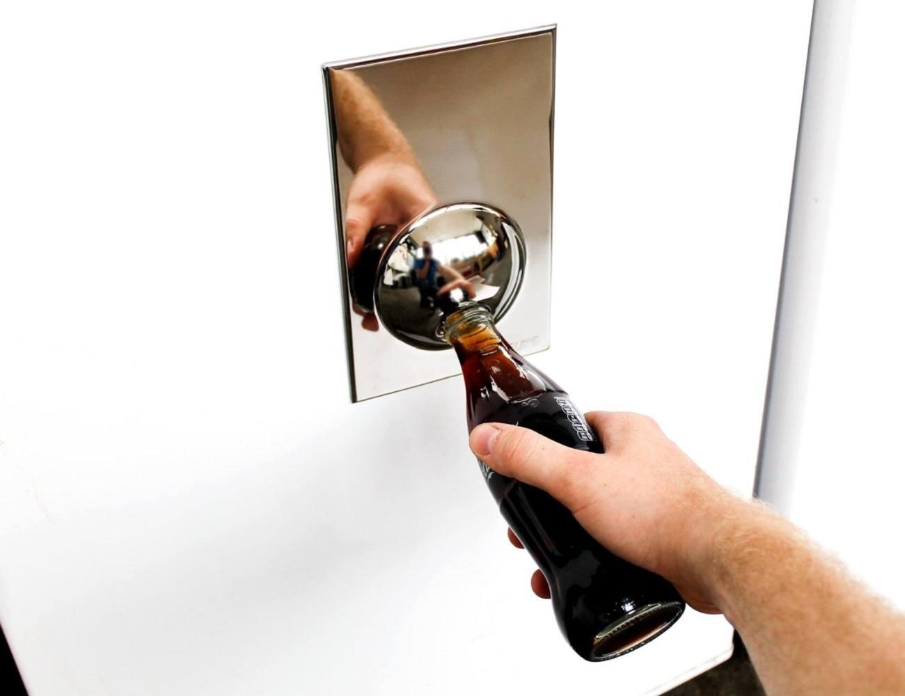 Refrigerator Magnet Bottle Opener Gadget Flow