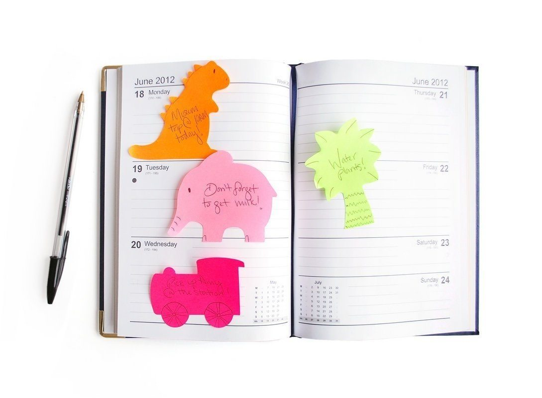 Silly Notes Sticky Page Markers