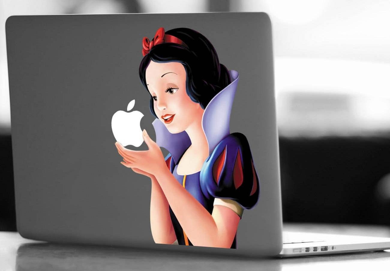 Snow+White+Macbook+Decal