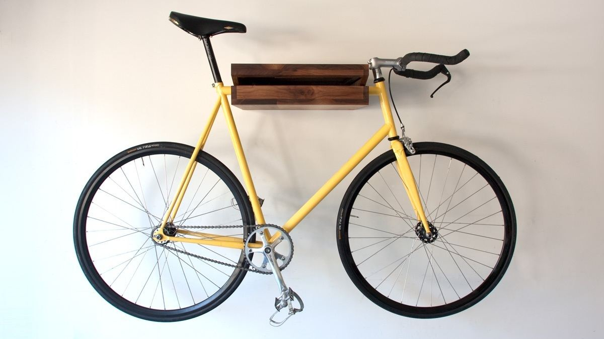 The bike shelf gadget flow Bicycle bookshelf