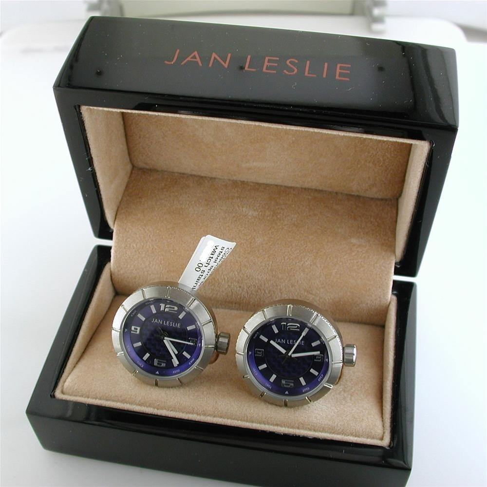 Watch Cufflinks By Jan Leslie