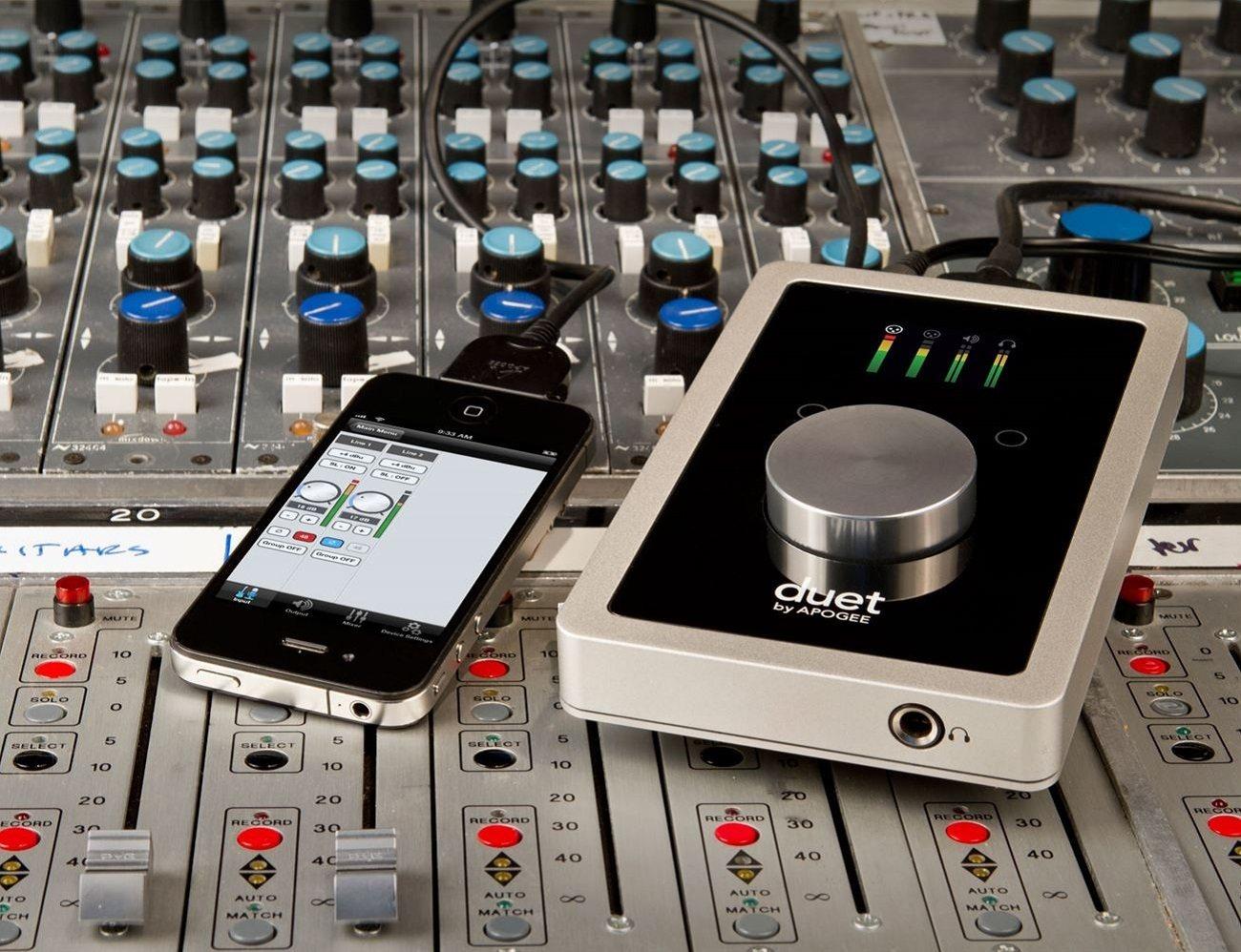 Apogee Duet FireWire Audio Interface