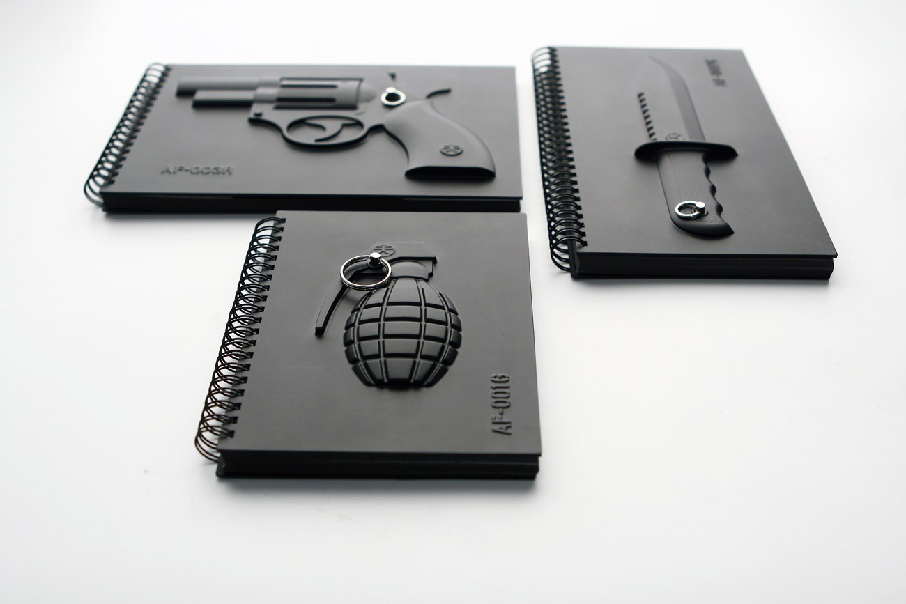 Armed Notebooks By Megawing