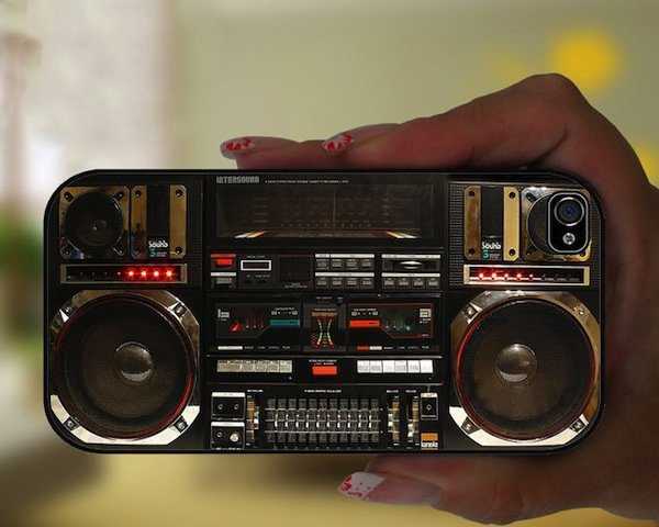 Boombox Ghetto Blaster iPhone SE/5s Case