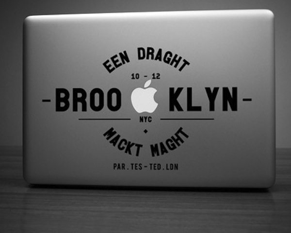 Brooklyn Decal For MacBook
