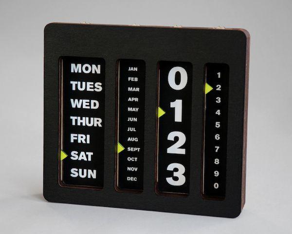 Perpetual Calendar By Caste