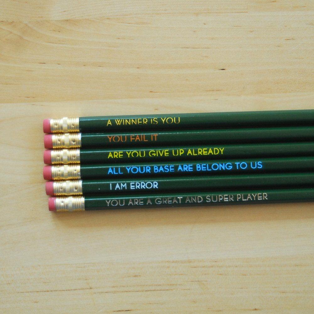 Classic Rap Pencil Set