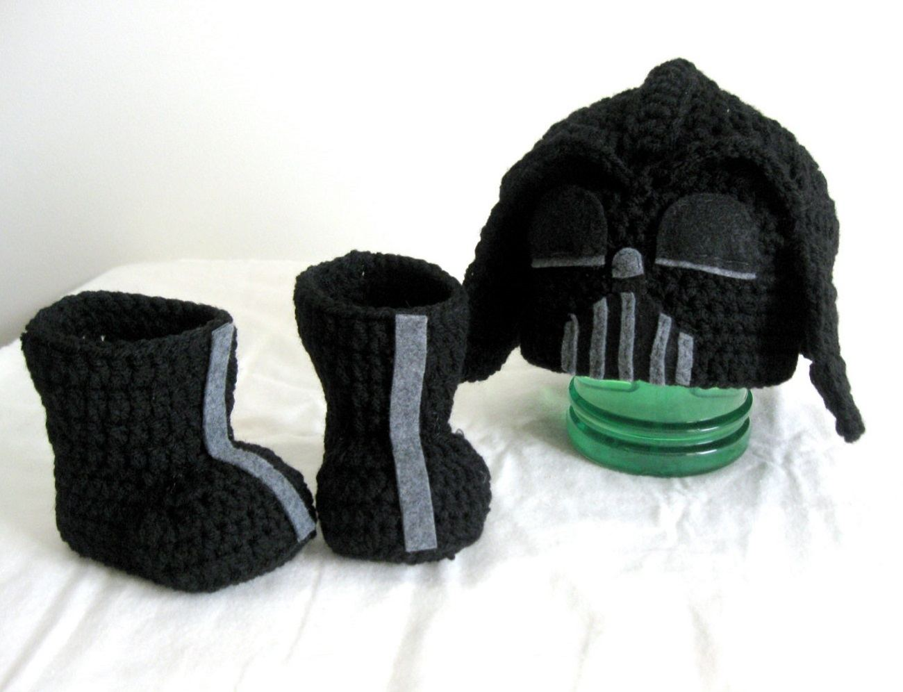 Crochet Hat Star Wars Darth Vader