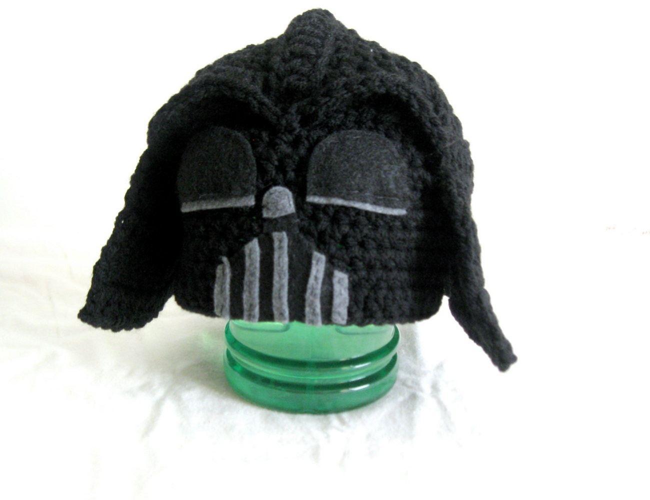 Crochet Hat Star Wars Darth Vader