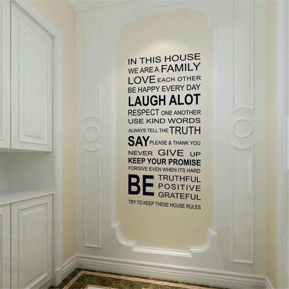 in this house vinyl wall sticker 187 gadget flow