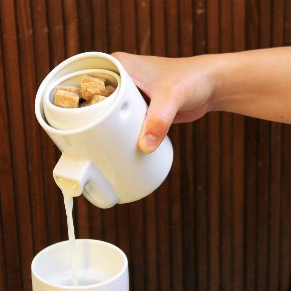 Tonfisk Newton Milk And Sugar Server