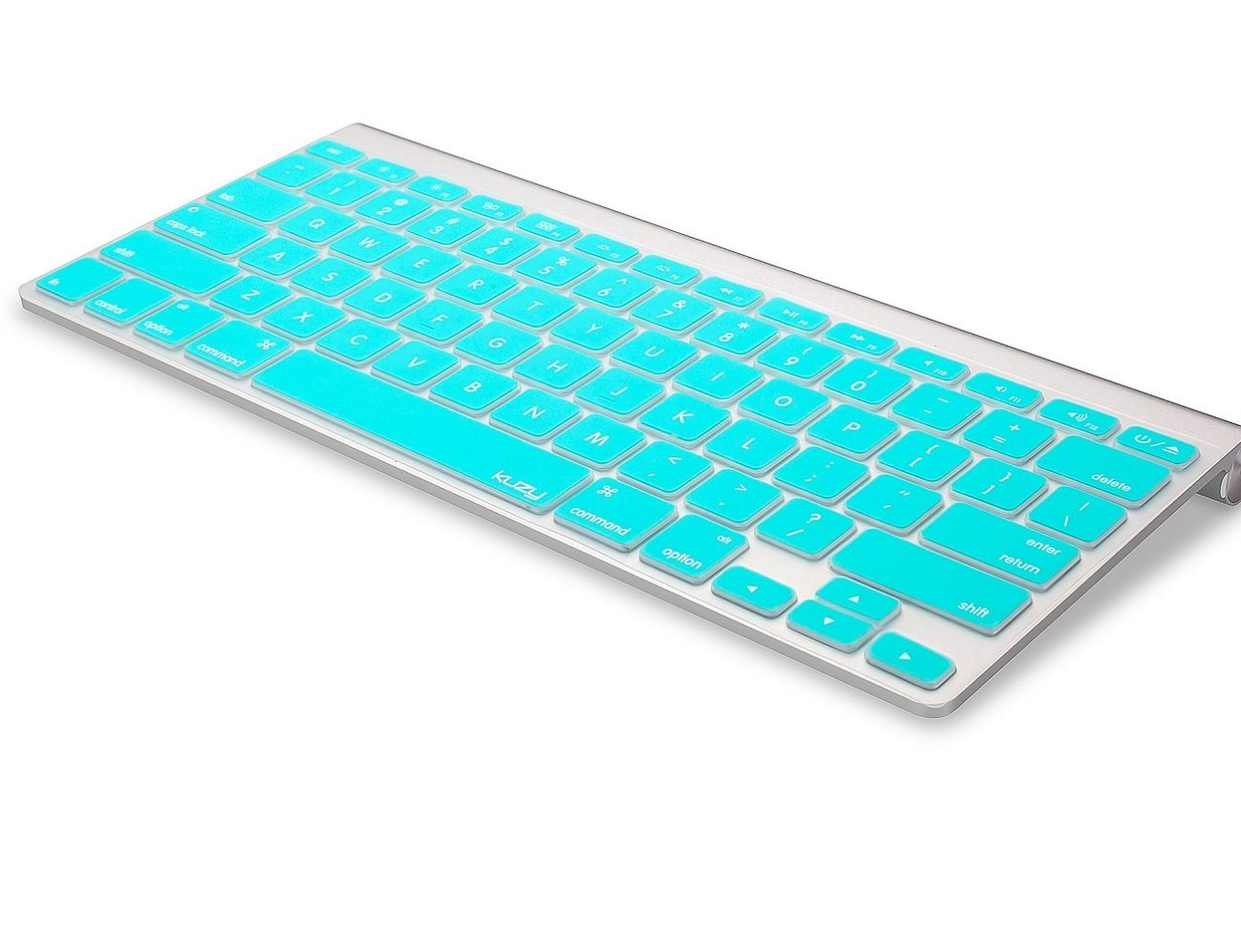 Turquoise Apple Keyboard Cover