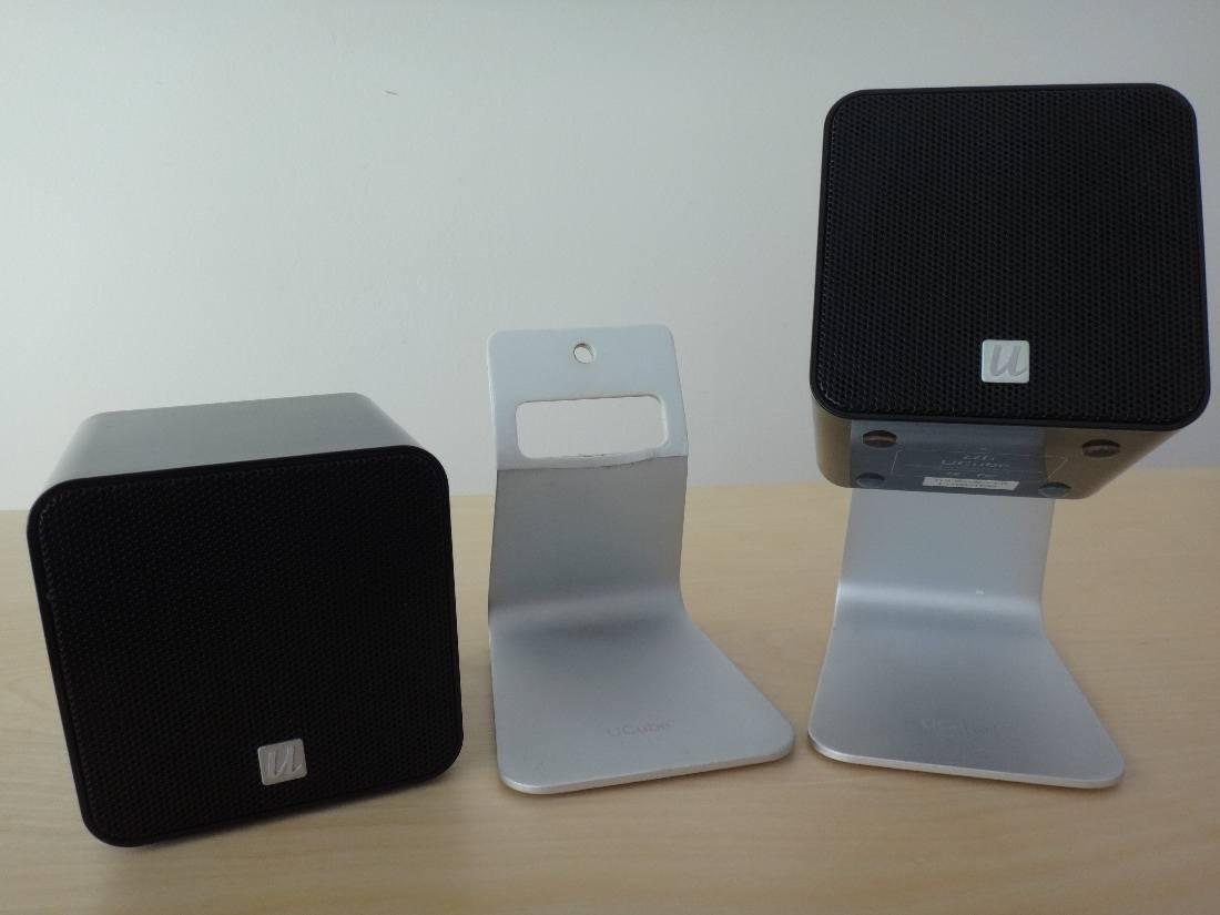 UFi+UCube+Speakers