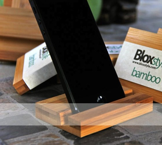 bamboo-iphone-stand