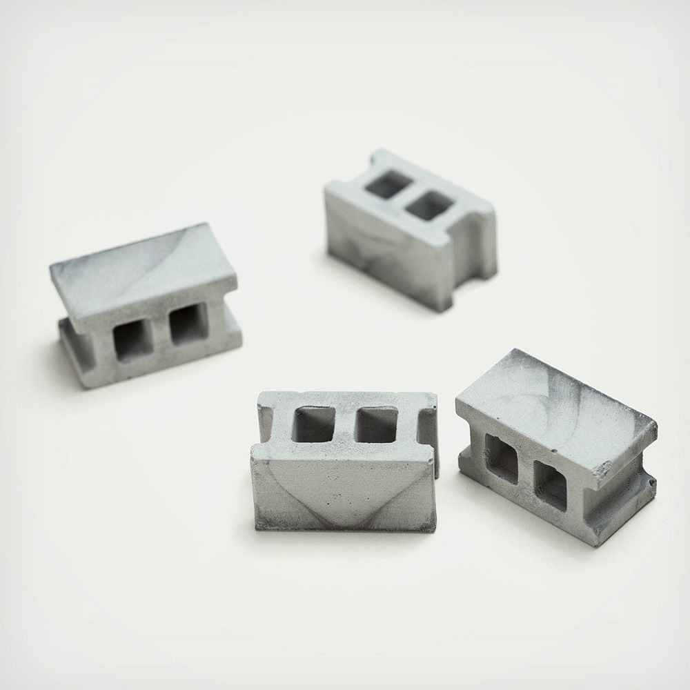 Concrete Block Magnets