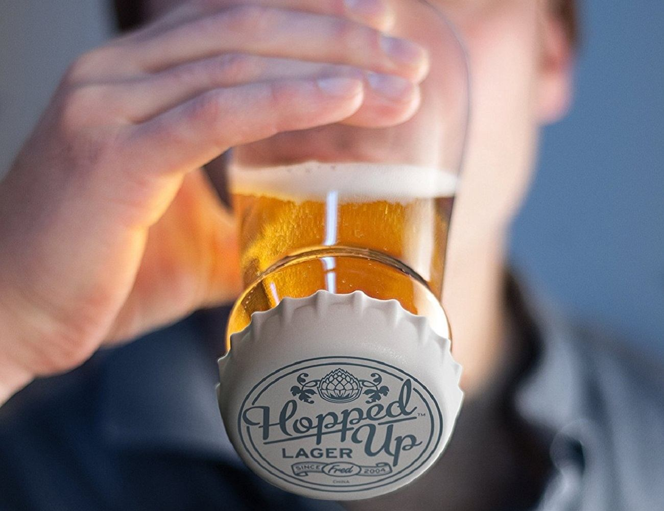 Hopped Up Beer Glass