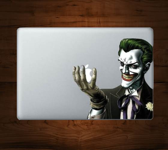 Joker+MacBook+Decal