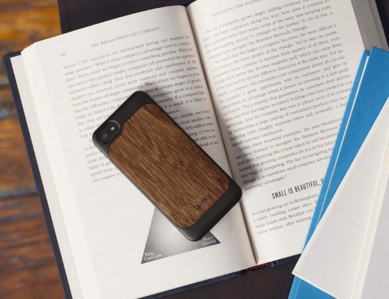 Pli Wood Case For iPhone SE/5s