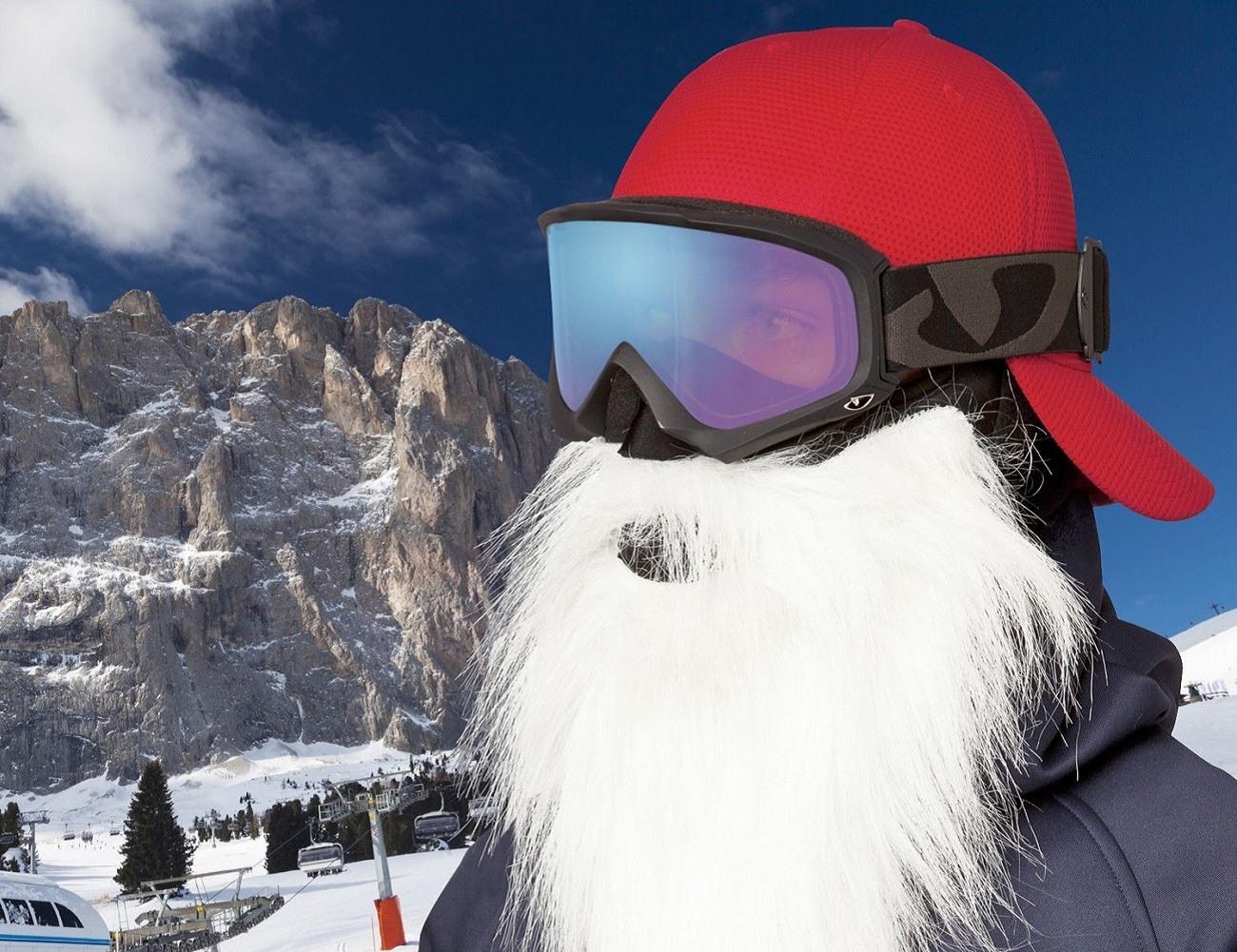 Santa Mask By Beardski