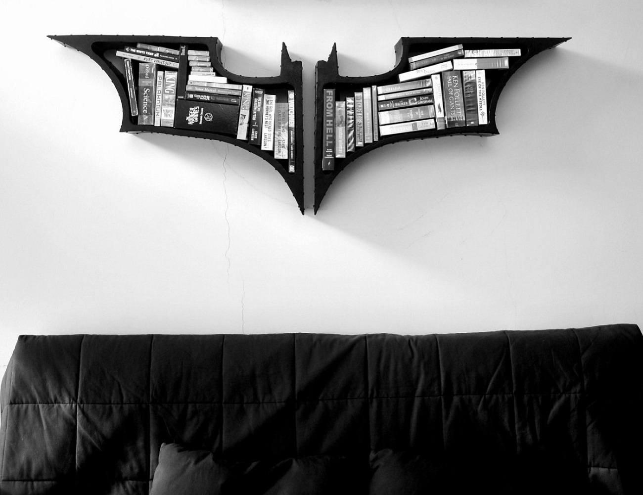 The Dark Knight Bookshelves
