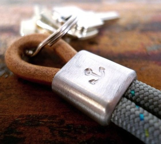 Anchor Rope Keychain